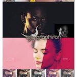 اکشن های فتوشاپ گرادیان های رنگی Color Grading Photoshop Action V.01