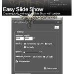دانلود پلاگین افترافکت ساخت سریع و ساده اسلایدشو Easyslideshow V1.2
