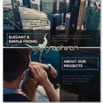دانلود پروژه تبلیغاتی آماده پریمیر Elegant & Simple Promo