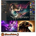 Escape Motions Flame Painter 3 Pro V3.2 x86/x64 پلاگین فتوشاپ