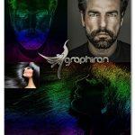 اکشن فتوشاپ گرادیان رنگی Gradient Color Photoshop Action