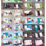 دانلود ۳۰ قالب بروشور PSD لایه باز Multipurpose Tri-Fold Bundle vol.1-2-3