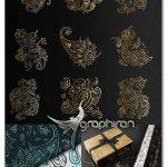 دانلود مجموعه وکتور پترن های بته جقه طلایی Paisley Golden Patterns