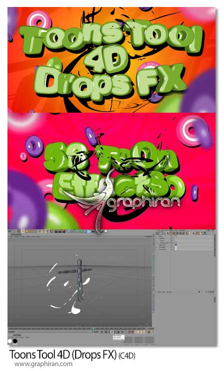 Toons Tool 4D (Drops FX)