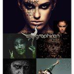 دانلود ۵ اکشن تایپوگرافی فتوشاپ Typography 5in1 Photoshop Actions Bundle