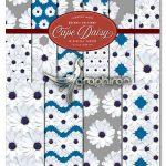 دانلود مجموعه پترن های گل های مینای سفید White Daisy Patterns