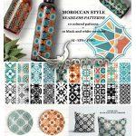 دانلود ۲۰ طرح پترن مراکشی و اسلامی Moroccan Style Patterns