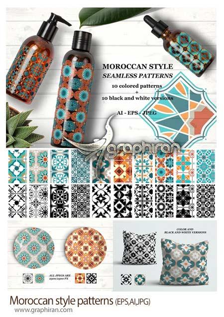 طرح پترن مراکشی و اسلامی