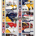 دانلود 10 طرح آماده تراکت کارواش PSD لایه باز Car Wash Flyers Bundle