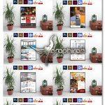 دانلود ۱۰ طرح پوستر هتل و مسافرخانه PSD لایه باز Hotel Poster Bundle