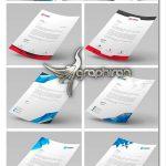 مجموعه ۱۰ طرح آماده سربرگ تجاری مشاغل در فرمت PSD لایه باز
