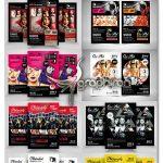 دانلود ۱۰ تراکت تبلیغاتی عکاسی لایه باز Photography Flyer Bundle