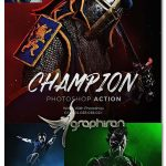 دانلود اکشن فتوشاپ افکت قهرمان Champion Photoshop Action