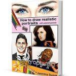دانلود رایگان کتاب آموزش نقاشی پرتره واقع گرایانه با مداد رنگی
