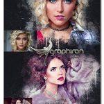 اکشن فتوشاپ افکت جوهر نسخه جدید Modern Ink2 Photoshop Action