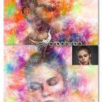 دانلود اکشن فتوشاپ افک نقاشی زیبا Painting Photoshop Action