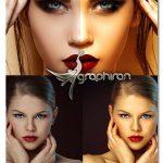 اکشن روتوش سریع تصویر در فتوشاپ Photo Retouching Photoshop Action