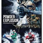 اکشن فتوشاپ انفجار پودر روی سوژه Powder Explosion Photoshop Action