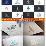 لوگوی آماده مشاور املاک و تجارت Real Estate Luxury Finance Logos