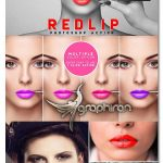 اکشن فتوشاپ تغییر رنگ لب RedLip Photoshop Action