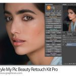 دانلود کیت روتوش جامع عکس فتوشاپ Style My Pic Beauty Retouch Kit Pro 2.0