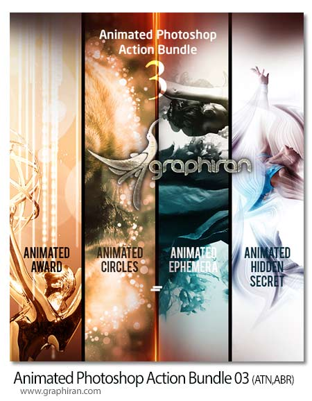 Animated Photoshop Action Bundle 03