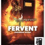 اکشن فتوشاپ ایجاد افکت شعله های با حرارت Fervent Photoshop Action