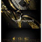 پروژه افتر افکت نمایش لوگوی طلایی جذاب Golden Elegance Logo