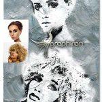 اکشن فتوشاپ نقاشی مدرن Modern Ink Painting Photoshop Action