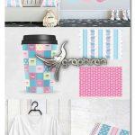 دانلود مجموعه طرح های پترن فانتزی TEA PARTY Pattern collection