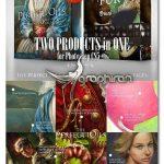مجموعه براش های رنگ روغن و مو برای فتوشاپ Prefect Oils & FUR Brushsets