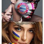 اکشن فتوشاپ نقاشی روی بدن و صورت Face and Body Paint Photoshop Action