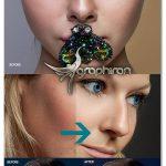 اکشن های فتوشاپ روتوش پوست و چهره PRO Skin Retouching Actions