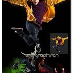 دانلود اکشن حرفه ای فتوشاپ دنباله های رنگی Spirit Photoshop Action
