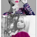 اکشن فتوشاپ رنگ انتخابی Selective Color Photoshop Action