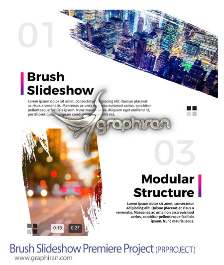 Brush Slideshow