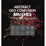 براش فتوشاپ شکل های هندسی انتزاعی Geometrical Confusion Brushes