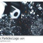 پروژه افتر افکت تشکیل لوگو از ذرات فلزی Metalic Particles Logo
