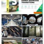 دانلود 1600 ترانزیشن افتر افکت Handy Seamless Transitions Pack & Script 5.3