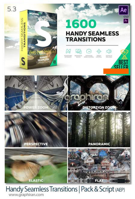 Handy Seamless Transitions Pack & Script 5.3