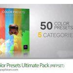 دانلود ۵۰ پریست رنگی پریمیر Color Presets Ultimate Pack
