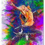 اکشن فتوشاپ افکت پاشیدن پودر رنگارنگ Colorful Powder Explosion Action