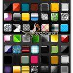مجموعه بیش از ۱۰۰ استایل متنوع و زیبای فتوشاپ Photoshop Layer Styles