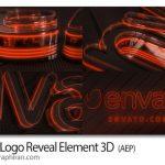 پروژه افتر افکت ارئه لوگو نئون سه بعدی Neon Logo Reveal Element 3D