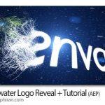 پروژه افتر افکت نمایان شدن لوگو زیر آب Underwater Logo Reveal