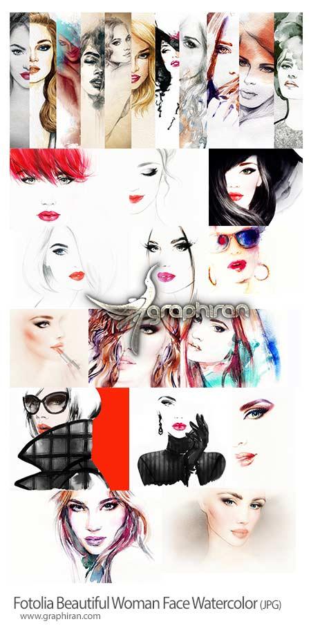 دانلود تصاویر استوک چهره های زن