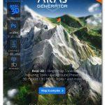 پلاگین فتوشاپ ساخت نقشه اطلس سه بعدی ۳D Map Generator Atlas