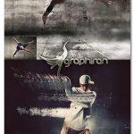 اکشن فتوشاپ انیمیشن طوفان شن Dust Storm Animation Photoshop Action