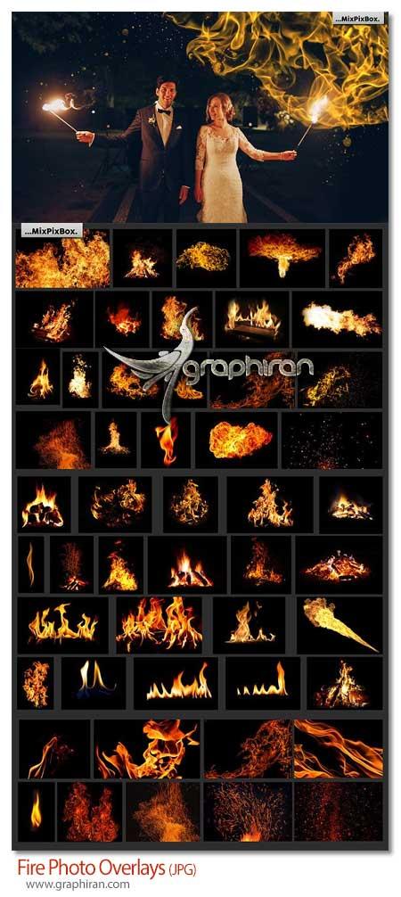 دانلود پک عکس های پوششی شعله آتش