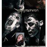 اکشن فتوشاپ تبدیل عکس عادی به زامبی ترسناک Horror v1 Photoshop Action